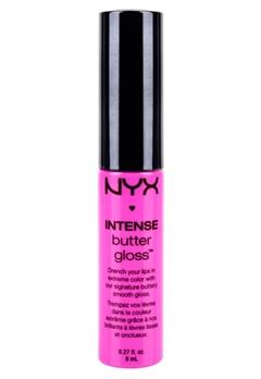 NYX NYX Intense Butter Gloss - Pink Macaroon  Bubbleroom.se