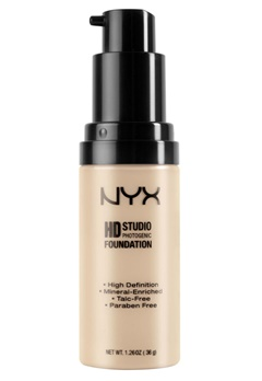 NYX NYX High Definition Foundation - Nude  Bubbleroom.se