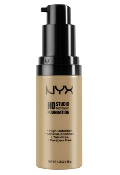 NYX NYX High Definition Foundation - Warm Sand  Bubbleroom.se