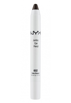 NYX NYX Jumbo Eye Pencil Dark Brown  Bubbleroom.se