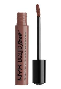 NYX NYX Liquid Suede Cream Lipstick Brooklyn Thorn  Bubbleroom.se