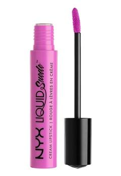 NYX NYX Liquid Suede Cream Lipstick Respect The Pink  Bubbleroom.se