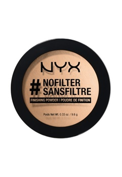 NYX NYX Nofilter Finishing Powder Honey Beige  Bubbleroom.se