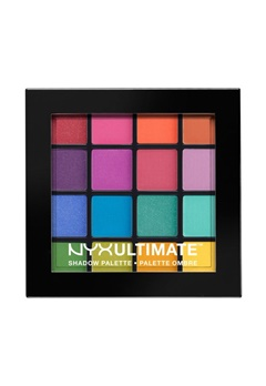 NYX NYX Ultimate Shadow Palette - Brights  Bubbleroom.se