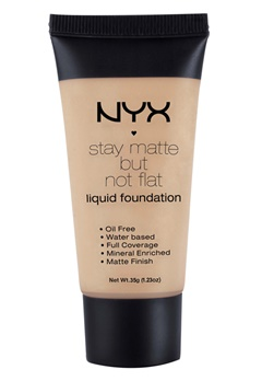 NYX NYX Stay Matte But Not Flat Liquid Foundation - Caramel  Bubbleroom.se