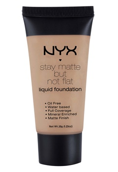 NYX NYX Stay Matte But Not Flat Liquid Foundation - Chestnut  Bubbleroom.se