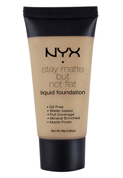 NYX NYX Stay Matte But Not Flat Liquid Foundation - Cinnamon Spice  Bubbleroom.se