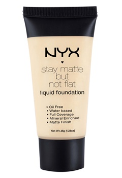 NYX NYX Stay Matte But Not Flat Liquid Foundation - Creamy Natural  Bubbleroom.se