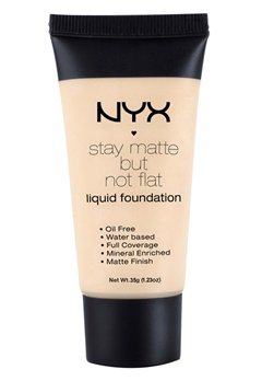 NYX NYX Stay Matte But Not Flat Liquid Foundation - Ivory  Bubbleroom.se