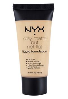 NYX NYX Stay Matte But Not Flat Liquid Foundation - Medium Beige  Bubbleroom.se