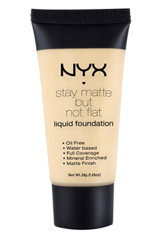 NYX NYX Stay Matte But Not Flat Liquid Foundation - Nude  Bubbleroom.se