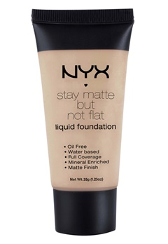 NYX NYX Stay Matte But Not Flat Liquid Foundation - Porcelain  Bubbleroom.se