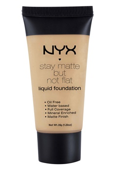 NYX NYX Stay Matte But Not Flat Liquid Foundation - Sienna  Bubbleroom.se