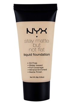 NYX NYX Stay Matte But Not Flat Liquid Foundation - Soft Beige  Bubbleroom.se