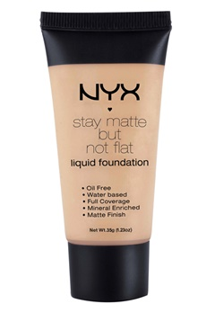 NYX NYX Stay Matte But Not Flat Liquid Foundation - Tan  Bubbleroom.se