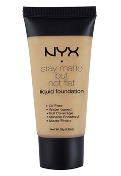 NYX NYX Stay Matte But Not Flat Liquid Foundation - Tawny  Bubbleroom.se