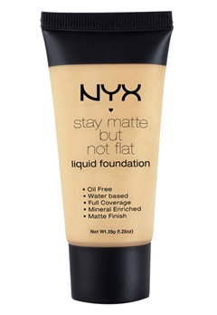 NYX NYX Stay Matte But Not Flat Liquid Foundation - Warm Beige  Bubbleroom.se