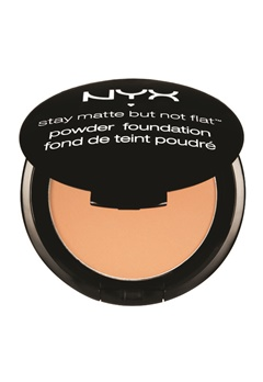NYX NYX Stay Matte But Not Flat Powder Foundation - Soft Beige  Bubbleroom.se
