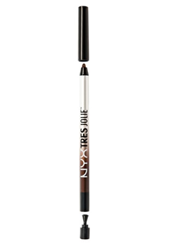 NYX NYX Tres Jolie Gel Pencil Liner - Brown  Bubbleroom.se