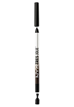NYX NYX Tres Jolie Gel Pencil Liner - Pitch Black  Bubbleroom.se