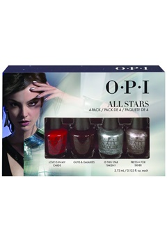 OPI OPI Starlight All Stars 4Pc Mini Pack  Bubbleroom.se