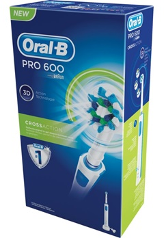 Oral B Oral B Pro600 Crossaction Box  Bubbleroom.se
