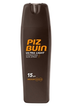 Piz Buin Piz Buin SPF 15 Ultra Light Hydrating Spray (200ml)  Bubbleroom.se