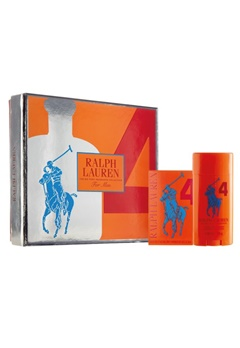 Ralph Lauren Ralph Lauren Big Pony Man Orange Gift Set  Bubbleroom.se