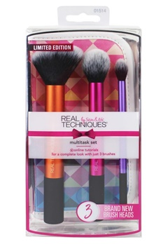 Real Techniques Real Techniques Limited Edition: Multitasking Kabuki Multi-Colour  Bubbleroom.se