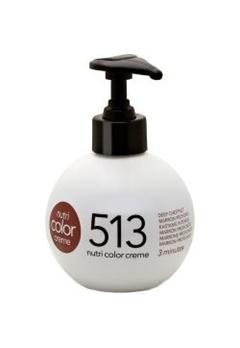 Revlon Professional Revlon Professional Nutri Color Creme 513 Deep Chestnut 250ml  Bubbleroom.se