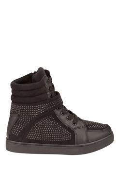 Truffle Sneakers med kilklack, Yen Svart Bubbleroom.se