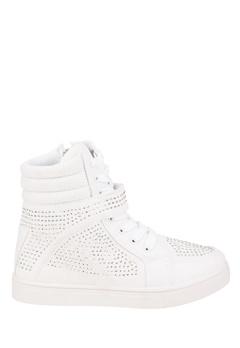 Truffle Sneakers med kilklack, Yen Vit Bubbleroom.se