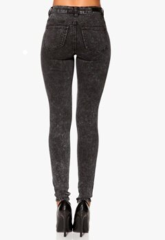 Pieces Just Jute Snow Legging Black Bubbleroom.se