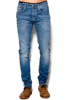 SELECTED HOMME One Marco 1320 Jeans Light Blue Denim Bubbleroom.se