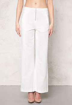 2nd One Cara 038 Pants Dressed White Bubbleroom.se