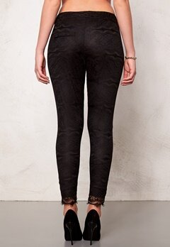 2nd One Miley 070 Pants Black Scallop Bubbleroom.se