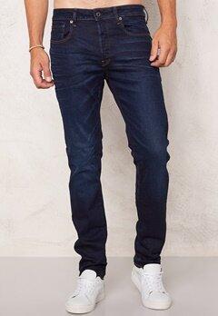 G-STAR 3301 Slim Jeans Blue Aged Denim Bubbleroom.se