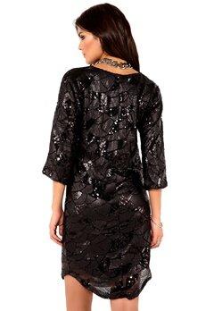 DRY LAKE Celine Dress Black Bubbleroom.se