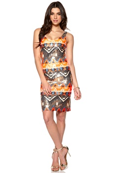 DRY LAKE Alina Dress Inca Sequins Bubbleroom.se