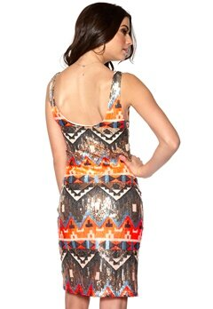 DRY LAKE Alina Dress Inca Sequins Bubbleroom.se