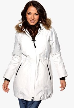 Happy Holly Parkas Offwhite Bubbleroom.se