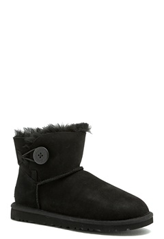 UGG Australia Mini Baily Button Black Bubbleroom.se