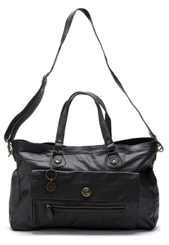 Pieces Totally Royal Travel Bag Black Bubbleroom.se