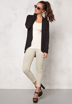 VILA Confident Cardigan Black Bubbleroom.se