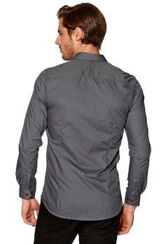 SELECTED HOMME Zero Globe Shirt Grey Bubbleroom.se