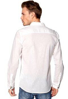 ONLY & SONS Mapie Shirt White Bubbleroom.se