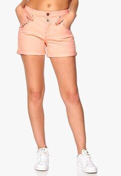 ONLY Lise Antifit Shorts Pale Neon Orange Bubbleroom.se