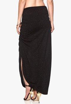ICHI Joto Skirt 10001 Black Melange Bubbleroom.se