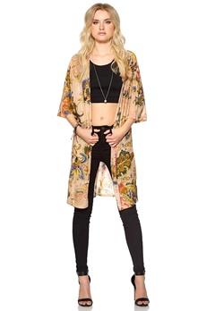 Happy Holly Kimono Blommig Bubbleroom.se