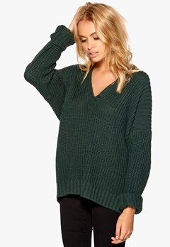 77thFLEA Jinan sweater Dark green Bubbleroom.se